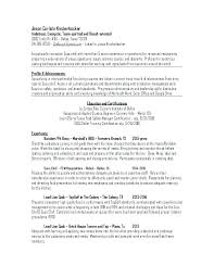 Sample Chef Resumes Executive Resume Examples Sous Objective