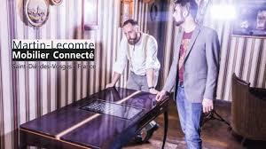 sous bureau original le bureau connecté par martin lecomte mobilier connecté by martin