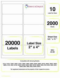 Labels 8 Per Sheet Template Word Awesome Avery Label For Fresh Top Result