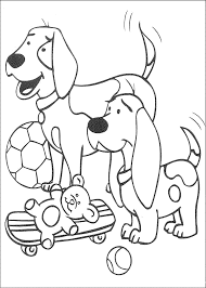 Fire Dog Coloring Pages