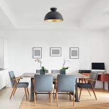 deckenleuchte schlafzimmer wohnzimmer design decken len loft schwarz gold led