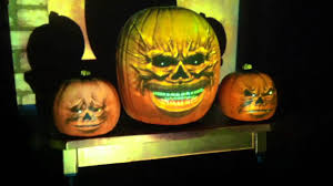 Singing Pumpkins Projector Setup by Grim Grinning Ghosts Singing Animated Pumpkins For Halloween Now