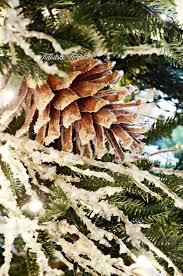Flocking Christmas Tree Kit by Tips For Decorating A Christmas Tree Tidbits U0026twine