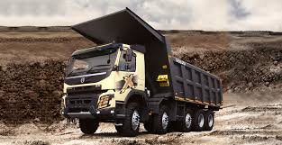 Volvo FMX 10x4 Pusher Dump Truck OB