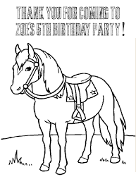 12 Pics Of Cowgirl Birthday Party Coloring Pages