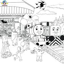 Thomas The Tank Engine Craft Activities Diesel Den Train Coloring Pages Free Kids Color Printable Birthday