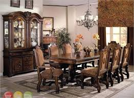 Natural Elegant Formal Dining Room Sets For Romantic Decoration Ideas 60 With