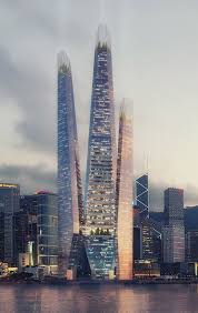 100 Hong Kong Skyscraper Archology Skyscraper Trio Proposed For
