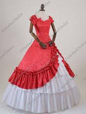 Victorian Princess Vintage Historical Ball Gown Dress Reenactment N 208 XXXL