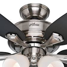 fan 52 brushed nickel finish ceiling fan with painted