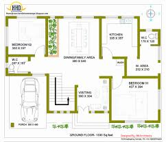 2 Bedroom House Ground Plans New Storey Design With 3d Floor Plan 2492 Sq Feet