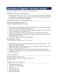 Mechanical Engineer Resume Sample & Writing Tips | Resume Genius View This Electrical Engineer Resume Sample To See How You Cv Profile Jobsdb Hong Kong Eeering Resume Sample And Eeering Graduate Kozenjasonkellyphotoco Health Safety Engineer Mplates 2019 Free Civil Examples Guide 20 Tips For An Entrylevel Mechanical Project Samples Templates Visualcv How Write A Great Developer Rsum Showcase Your Midlevel Software Monstercom