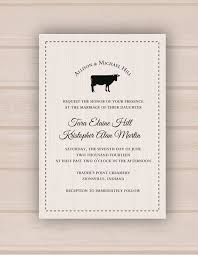 Printable Digital Rustic Farm Wedding Invitation These Would Look Great Printed On Our Eco