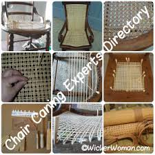 Recane A Chair Seat by Chair Caning Repair Experts Directory