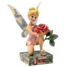 Disney Tinkerbell Star Christmas Tree Topper by Disney Traditions Designed By Jim Shore For Enesco June Tinker