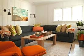 Grey Leather Sectional Living Room Ideas by Chic Grey Sectional Living Room Rectangle Red Contemporary Plastic