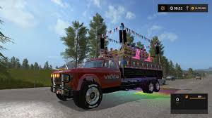 99 Game Party Truck VIDEO GAMS CANADA PARTY TRUCK V1 FS17 Farming Simulator 17 2017 Mod