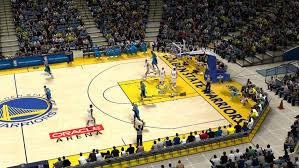 Clevand Cavaliers Home Court Golden State Warriors Basketball