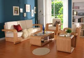 Wooden Sofa Sets For Living Room Simple Wood Designs