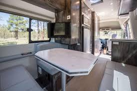 Custom Ford Coach Van Interior