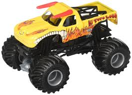 100 Hot Wheels Monster Truck Toys Details About Jam El Toro Loco Yellow