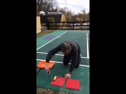 sport court tile restoration