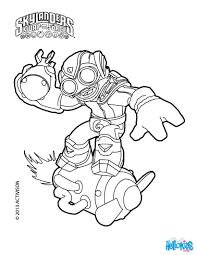 Skylanders Swap Force Characters Colering Pages
