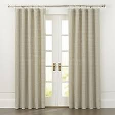Yellow And White Striped Curtains by Curtain Panels And Window Coverings Crate And Barrel