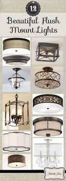 large semi flush mount ceiling light