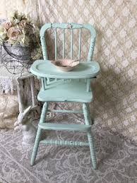 this classic vintage wooden jenny lind high chair would make the