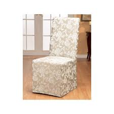 Sure Fit Scroll Leaf Dining Chair Slipcover | Products ... Jf Chair Covers Excellent Quality Chair Covers Delivered 15 Inexpensive Ding Chairs That Dont Look Cheap How To Make Ding Slipcovers Tie On With Ruffpleated Skirt Canora Grey Velvet Plush Room Slipcover Scroll Sure Fit Top 10 Best For Sale In 2019 Review Damask Find Slipcovers Design Builders