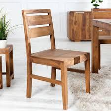 details zu massiver stuhl sheesham massivholz essstuhl esszimmerstuhl küchenstuhl