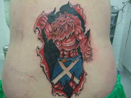 JPG Scottish Maori Tartan Tattoo Share This Page Celtic Armband With Custom Knot Oval And Thistle