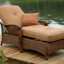 agio veranda agio outdoor woven chaise lounge chair with seat