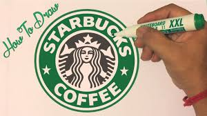 How To Draw The Starbucks Logo