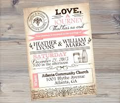 Brilliant Best 25 Mason Jar Wedding Invitations Ideas On Pinterest Rustic Inside