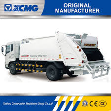 China XCMG Manufacturer 3-12T Compressing Garbage Truck (Garbage ...