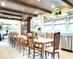 Kitchen Dining Room Combo Colors Paint For Living Image Design