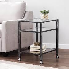 Walmart Metal Sofa Table by Metal 3 Shelf End Table Walmart Com