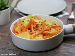 cuisiner panais poêlée de carottes et panais la cuisine d adeline
