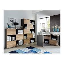 bureau angle design bureau d angle gris leader bureaux design noir et blanc