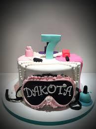 Little Girl Spa Birthday Cake On Central