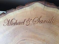 Etched Cutting Board Rustic Wedding Gifts Decor Centerpieces Live