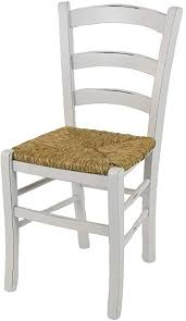 tmcs tommychairs chair venezia shabby chic style suitable for kitchen and dining room structure in artisan made antique beechwood and seat in straw