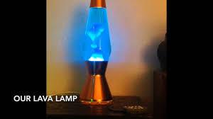 Mathmos Blue Lava Lamp