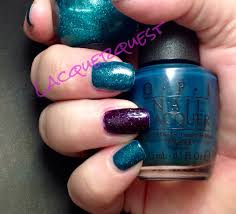 The Base Color For Right Hand Was OPIs Ski Teal We Drop A Dark Creme From Fall 2010 Swiss Collection Topped With Art You Wondering