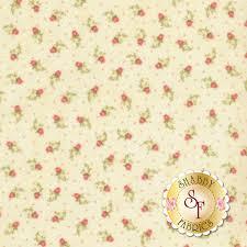 100 Flannel Flower Glass Gentle Garden F828040 Sweet Little Calico Buds On Cream By Henry Fabrics