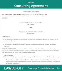 Consulting Agreement Template US