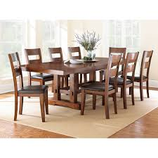 Cheap Kitchen Table Sets Free Shipping by Steve Silver Zappa 9 Piece Dining Table Set Medium Cherry