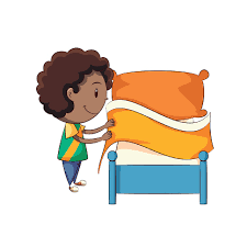 Boy Making Bed Clipart 59bc9e487dcd635fe